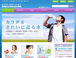 浄水器販売サイト wordpress CMSWEBサイト