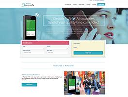 海外向けwifiレンタルサービスWEBサイト